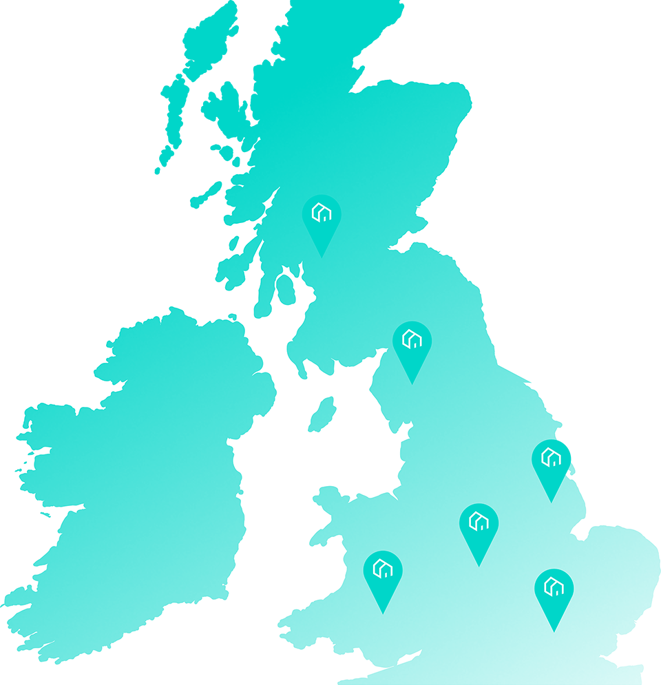 Empower search UK map